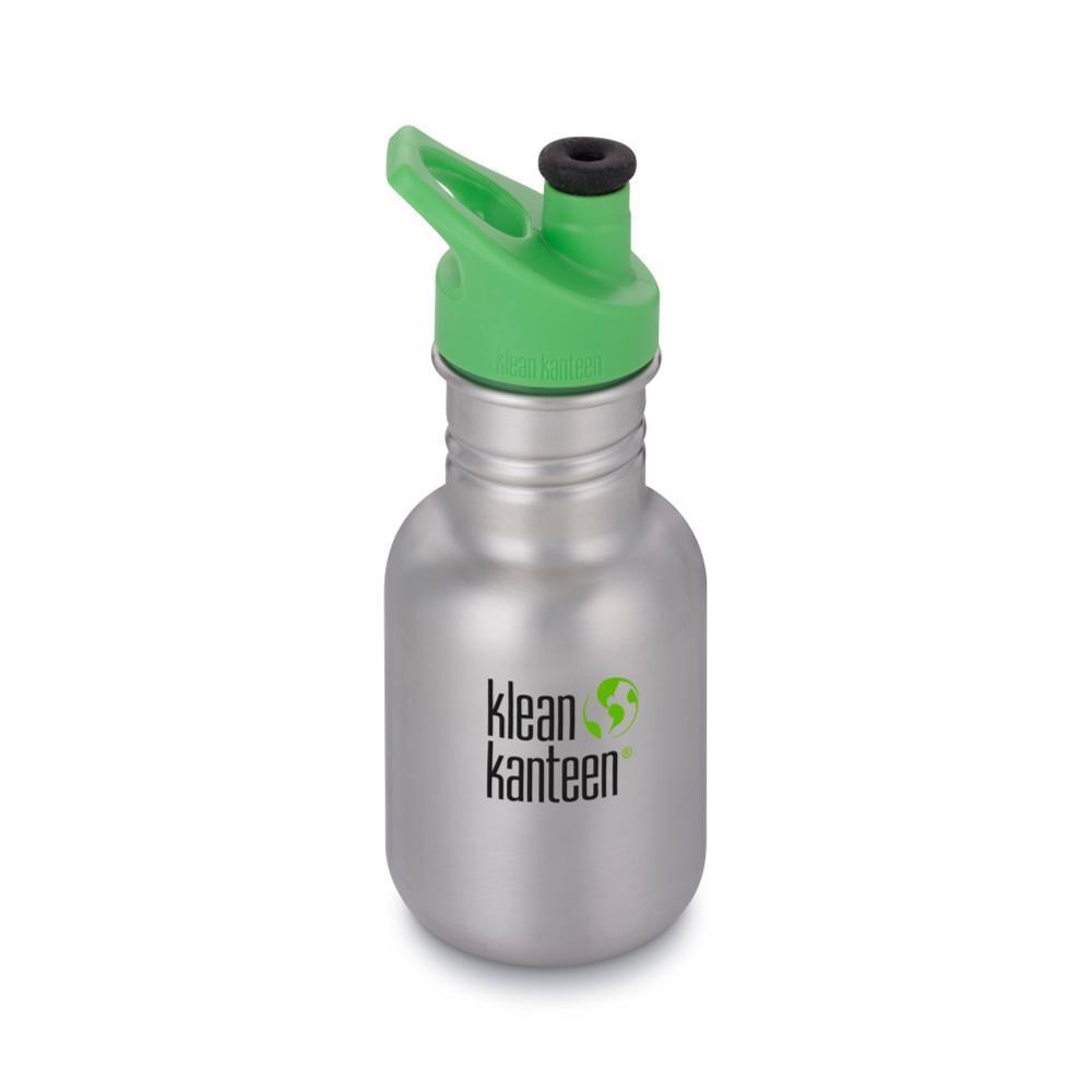 Klean Kanteen Kid Classic Sport Bottle - 12oz BRUSHEDSTNL