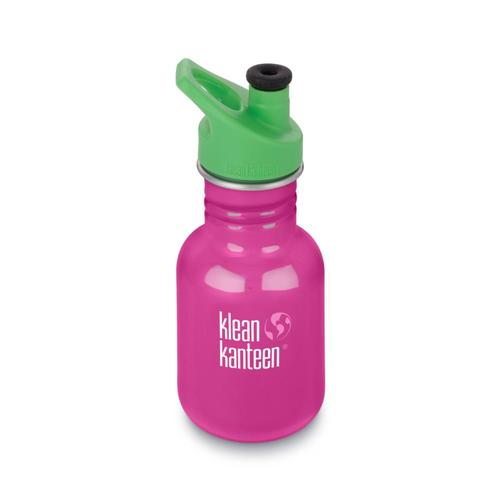 Klean Kanteen Kid Classic Sport Bottle - 12oz Wildorchid