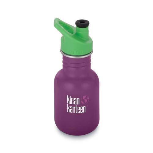 Klean Kanteen Kid Classic Sport Bottle - 12oz Winterplum