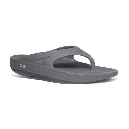 OOFOS Men's OOriginal Flip Sandals Slate