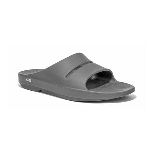 OOFOS Women's OOahh Slide Sandals Slate
