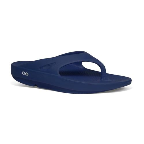 OOFOS Men's OOriginal Flip Sandals Navy