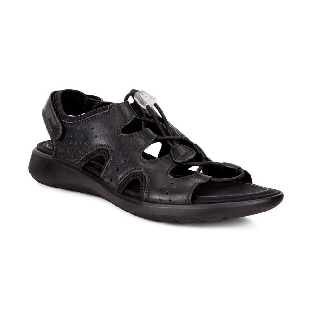 ECCO Women's Soft 5 Toggle Sandals BLACK