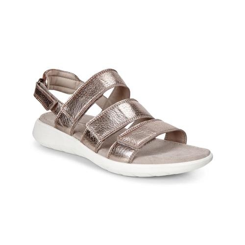 ECCO Women's Soft 5 3-Strap Sandals Warmgry