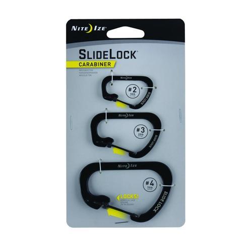 Nite Ize SlideLock Carabiner - 3-Pack