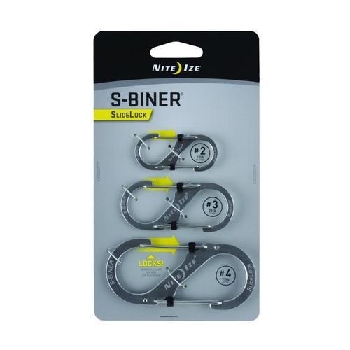 Nite Ize S-Biner SlideLock - 3-Pack