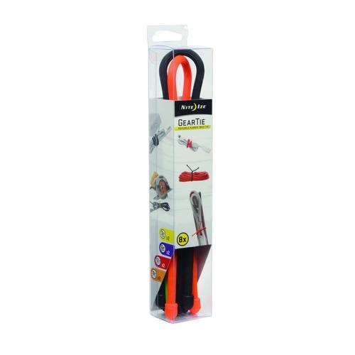 Nite Ize Gear Tie Reusable Rubber Twist Box Assortment