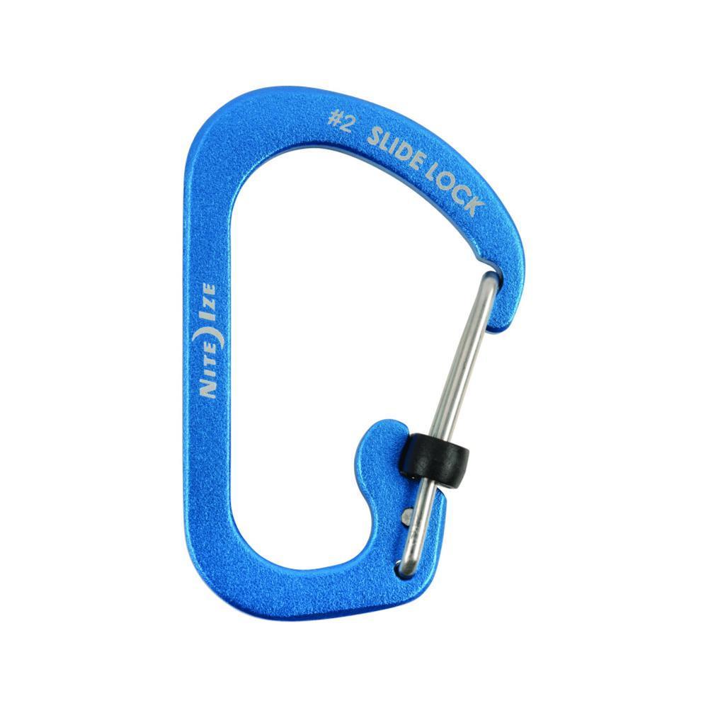 Nite Ize Slidelock Carabiner Aluminium BLUE
