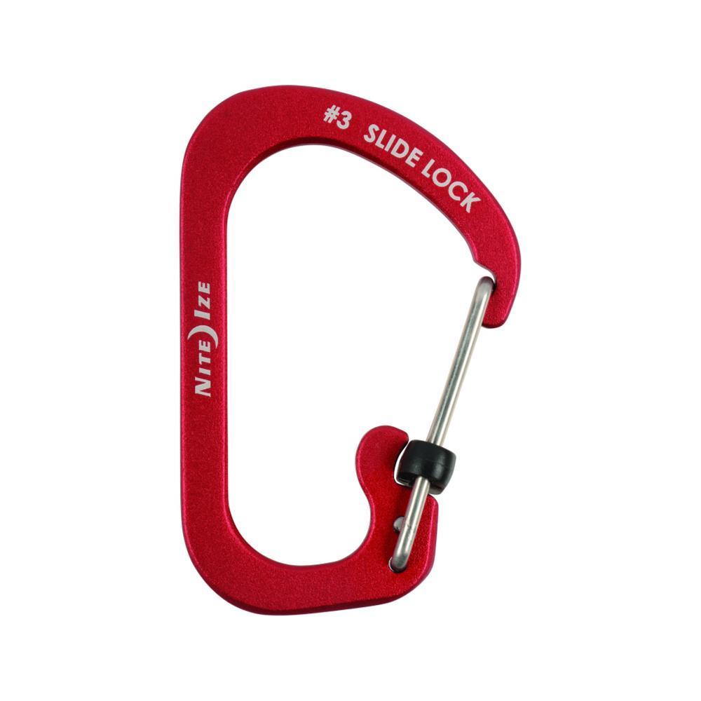 Nite Ize Slidelock Carabiner Aluminium RED