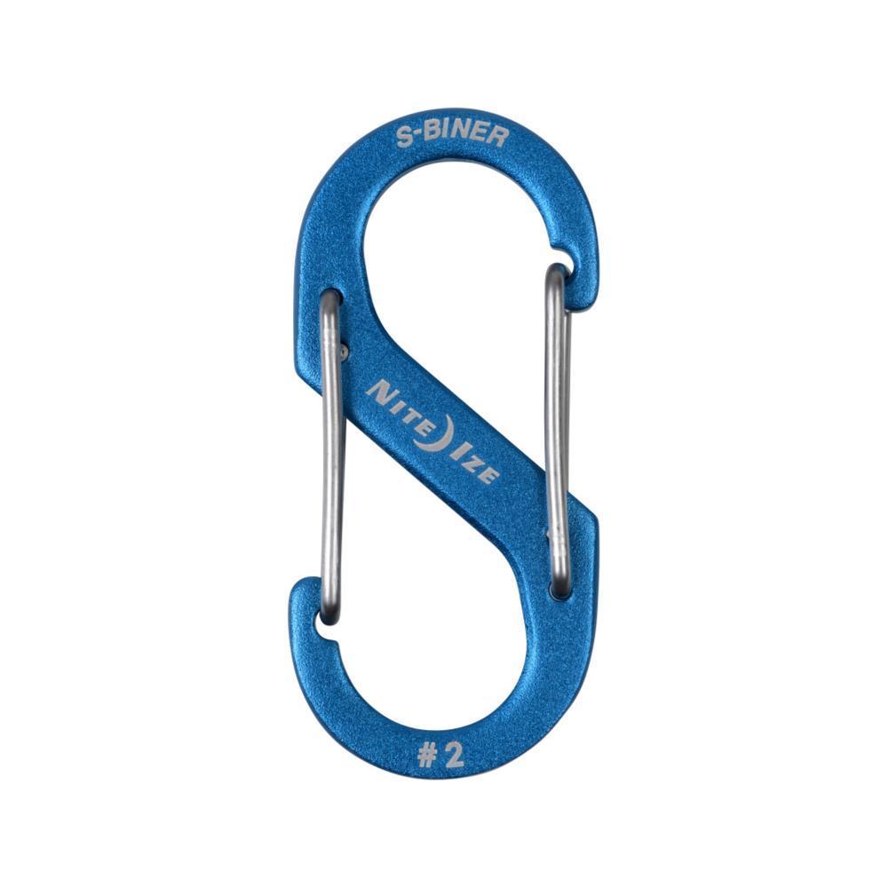 Nite Ize S-Biner Dual Carabiner Aluminum #2 BLUE