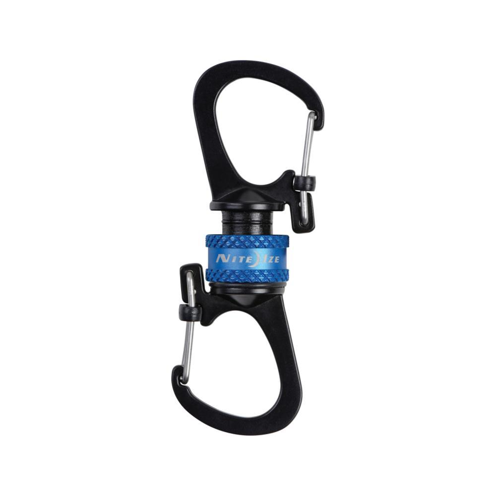 Nite Ize Sidelock 360 Magnetic Locking Carabiner BLUE