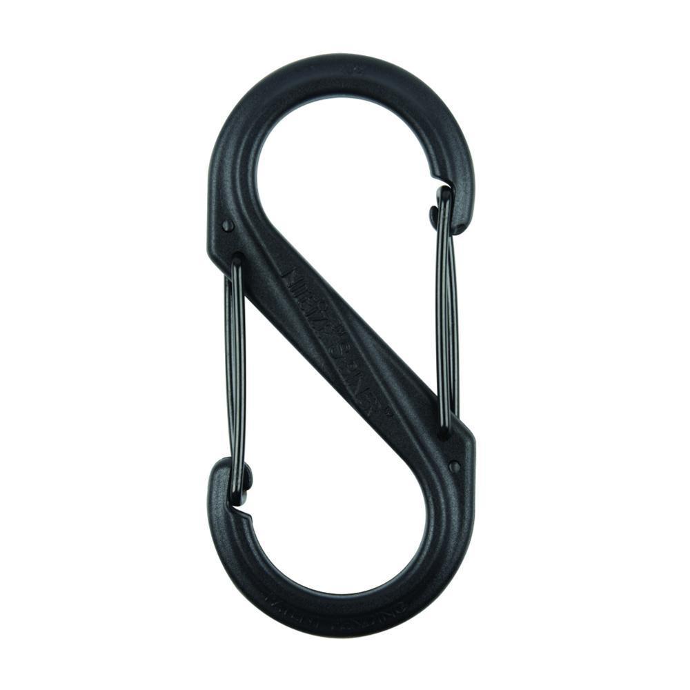 Nite Ize S-Biner Dual Carabiner Plastic #4 BLACK