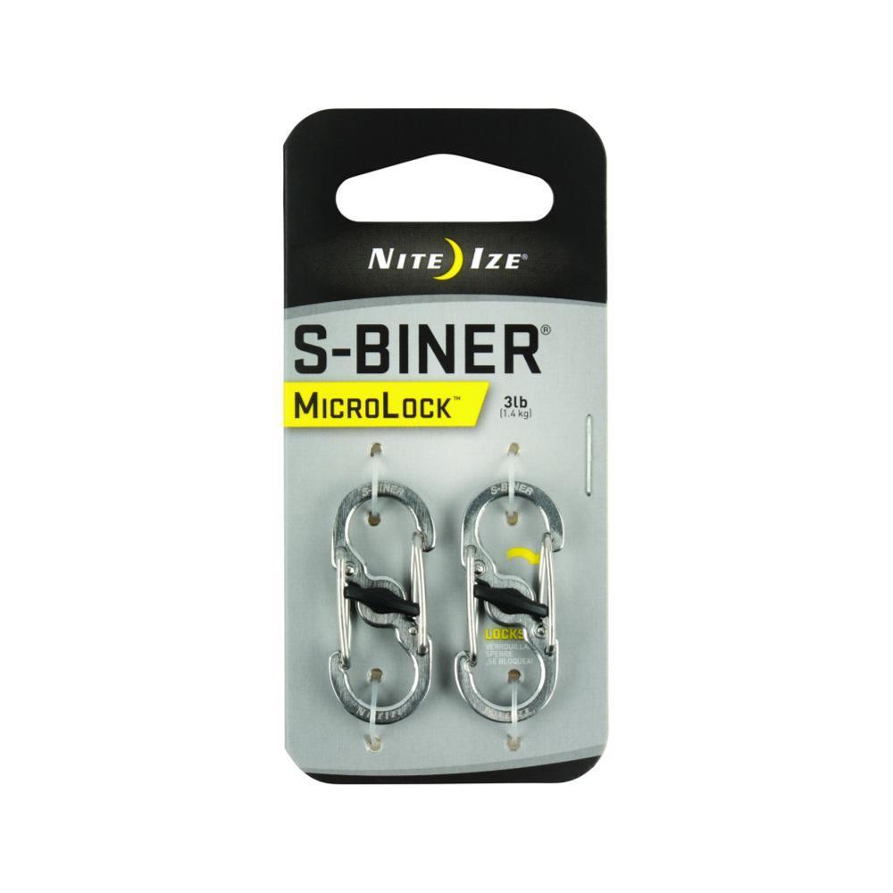 Nite Ize S- Biner Microlock Stainless Steel - 2- Pack