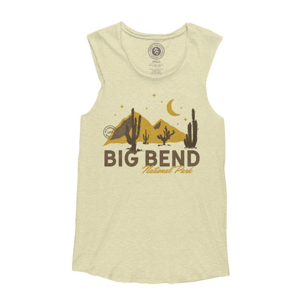 Parks Project Unisex Big Bend Cactus Life Sleeveless Tank NATURAL