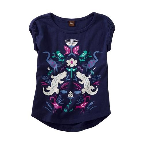 Tea Collection Girls Wild Bayou Graphic Tee