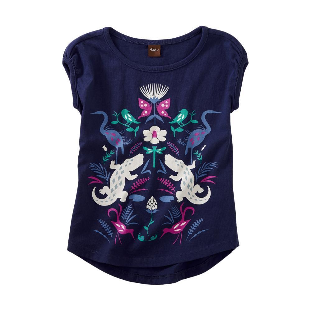 Tea Collection Girls Wild Bayou Graphic Tee TWILIGHT