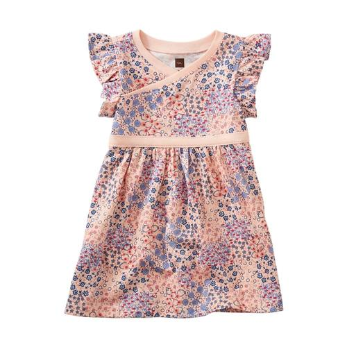 Tea Collection Infant Wrap Neck Baby Dress