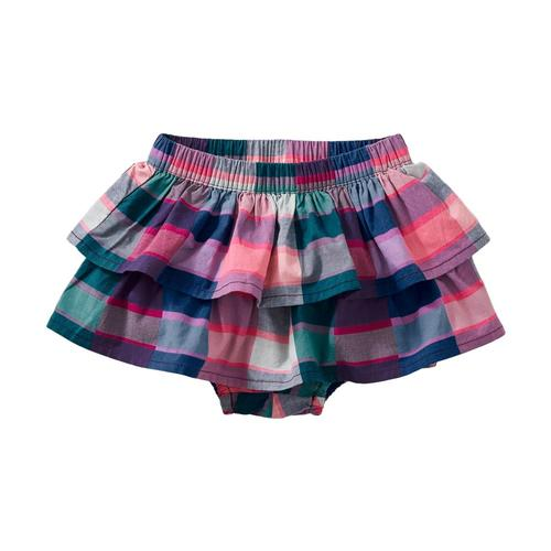 Tea Collection Infant Plaid Ruffled Bloomers
