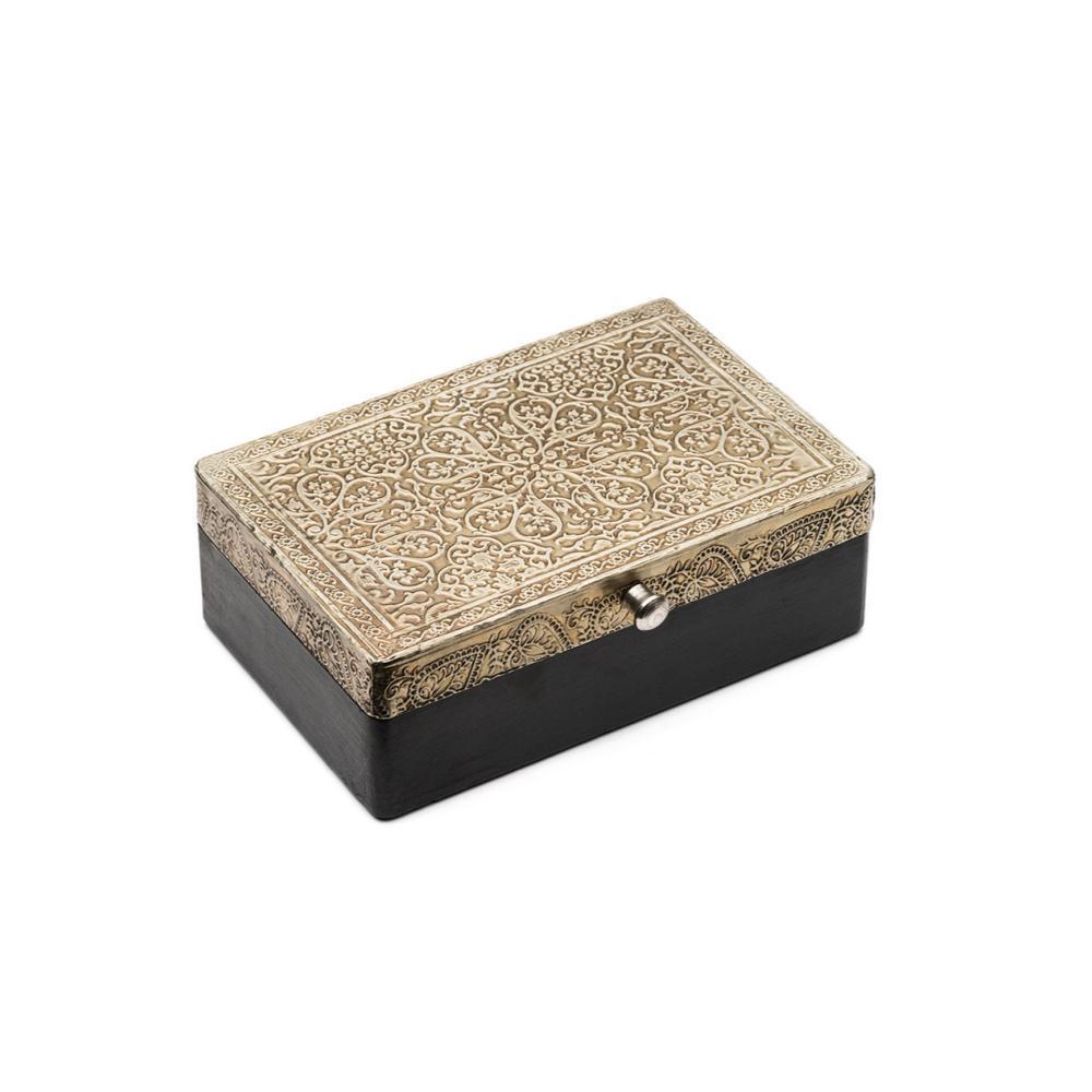 Matr Boomie Silver Treasure Box FAIRTRADE