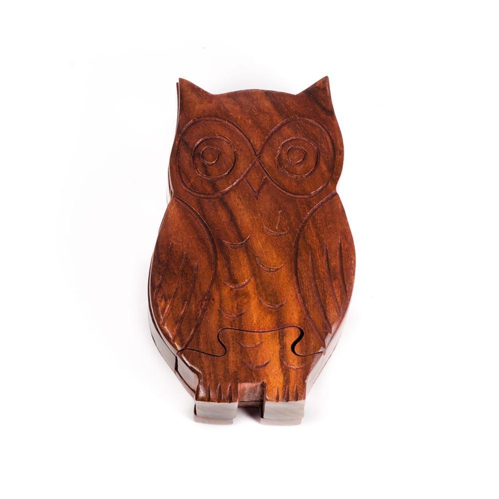 Matr Boomie Owl Puzzle Box OWL