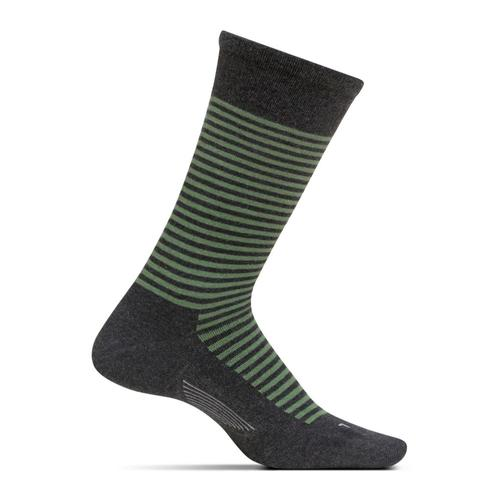 Feetures Men's Uptown Ultra Light Crew Socks