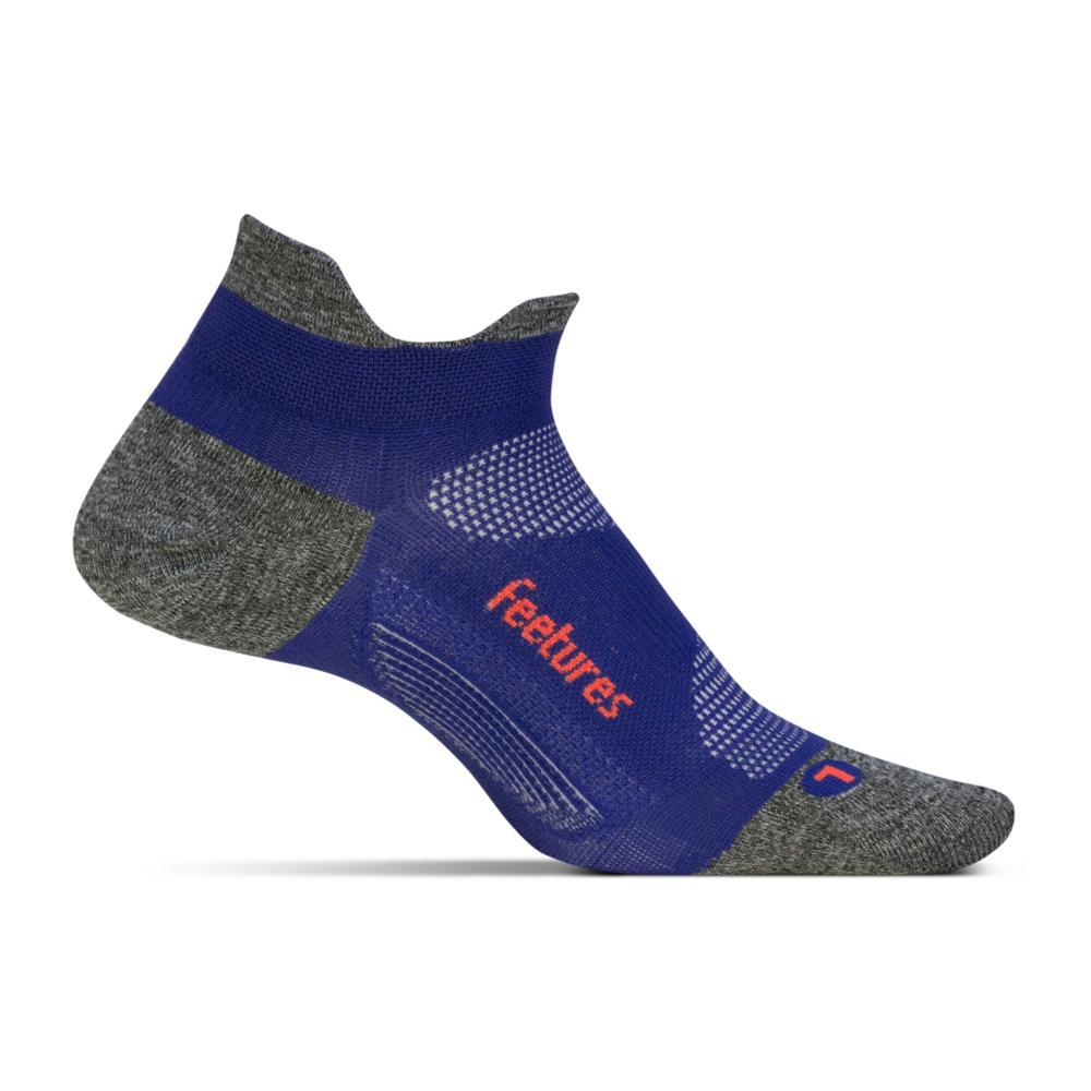 Feetures Unisex Elite Ultra Light No Show Tab Socks POWERPURPLE