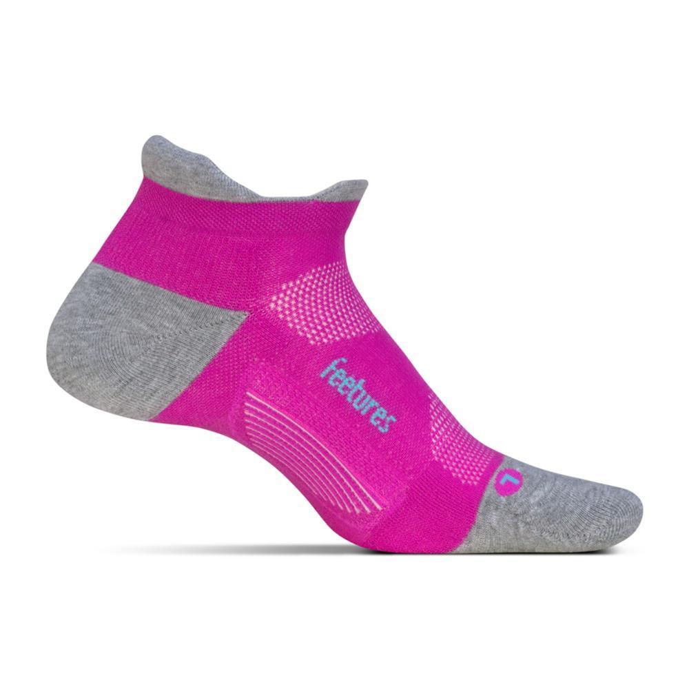Feetures Unisex Elite Max Cushion No Show Tab Socks FUSCHIAPOP