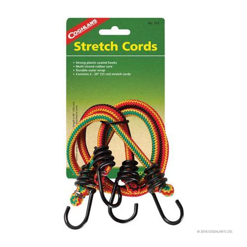 Coghlan's 20in Stretch Cords Asst