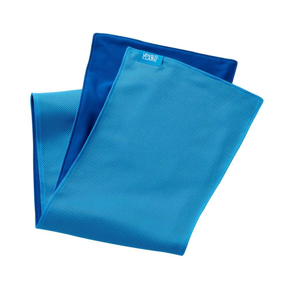 Lewis N. Clark Ice Mate Cool Towel BLUE