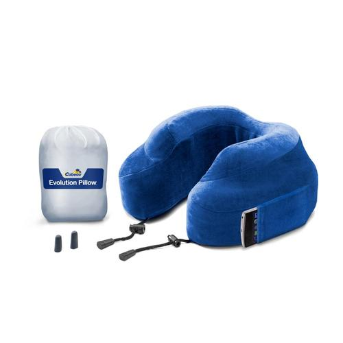 Lewis N. Clark Evolution Pillow CABEAU_BLUE