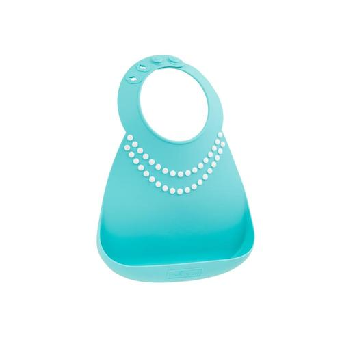Make My Day Silicon Baby Bib - Breakfast at Mom's Pearl