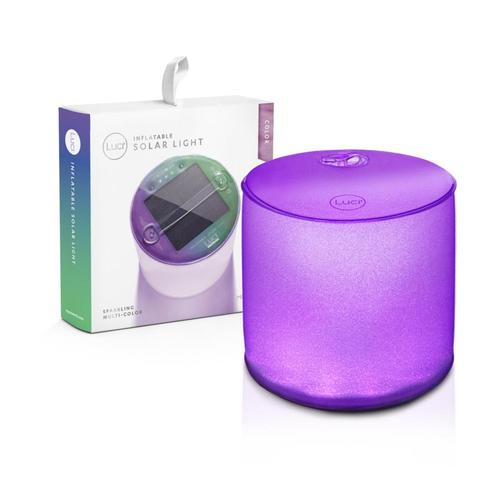 MPOWERD Luci Color Inflatable Solar Light Multi.Color