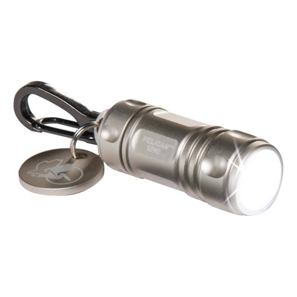 Pelican 1810 LED Keychain Light SILVER