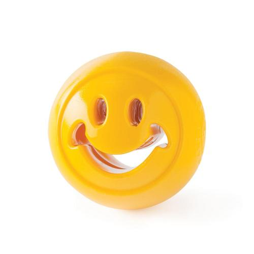 Planet Dog Orbee-Tuff Nook Smiley Dog Toy Yellow