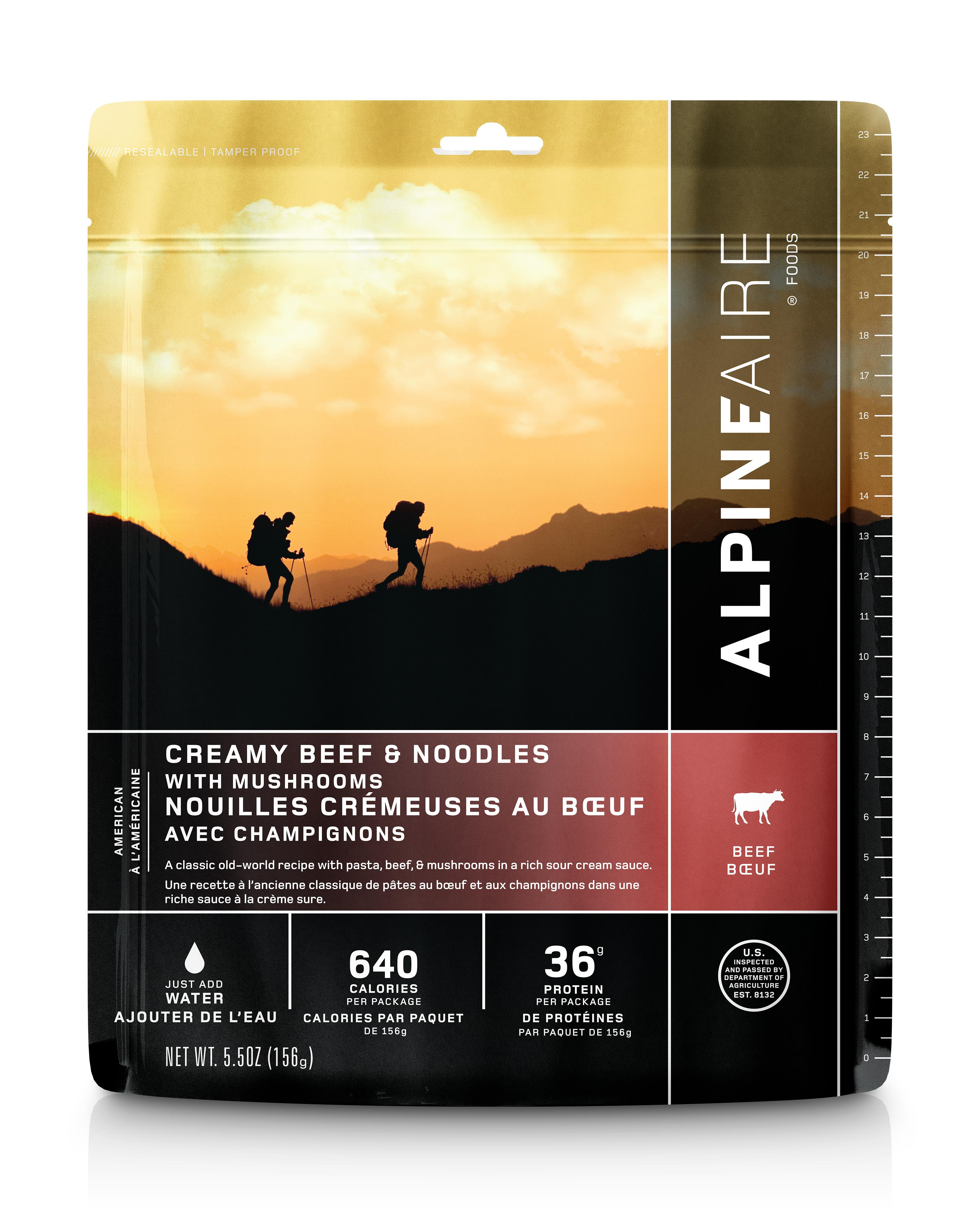 Alpine Aire Creamy Beef Noodles With Mushrooms