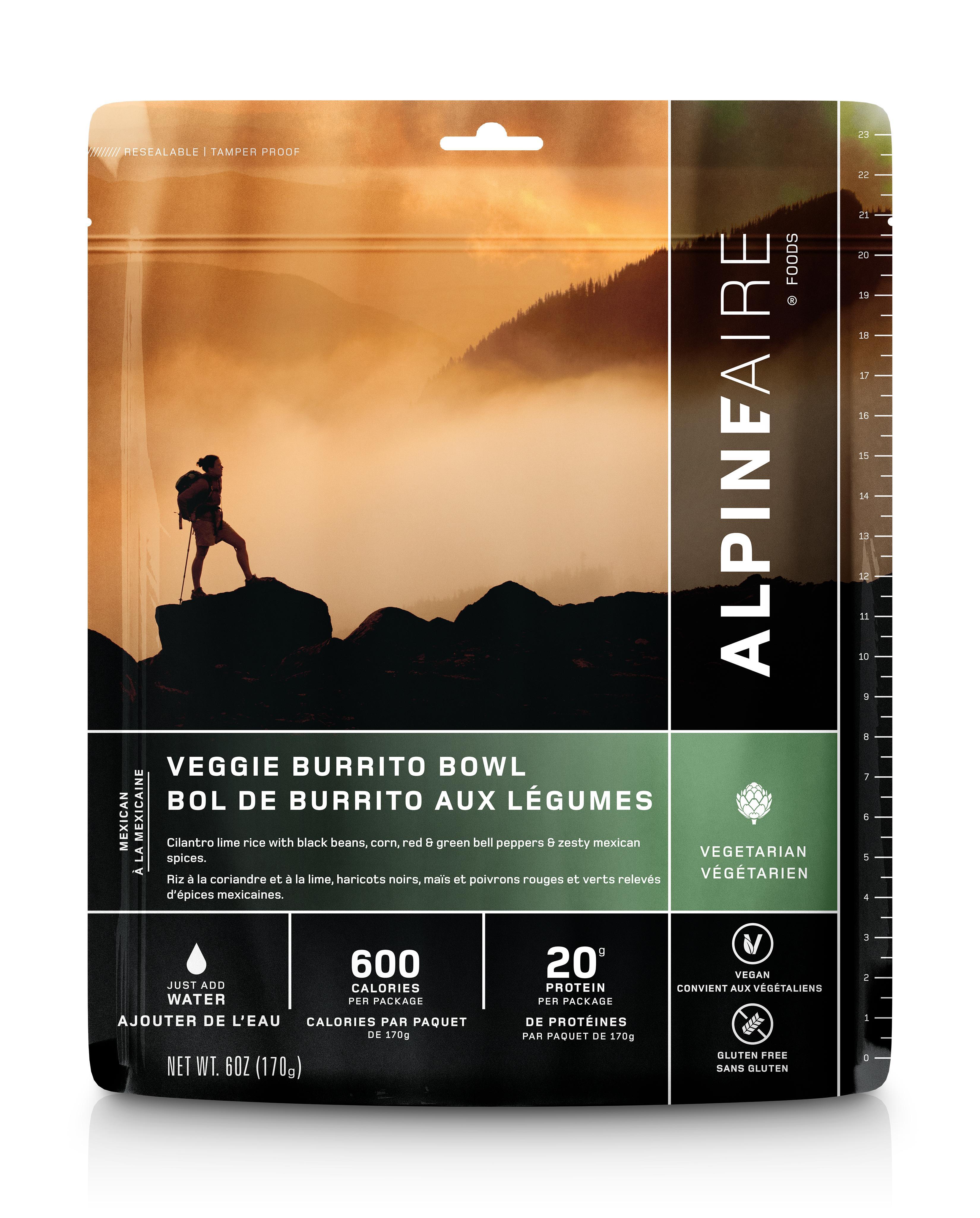 Alpine Aire Veggie Burrito Bowl