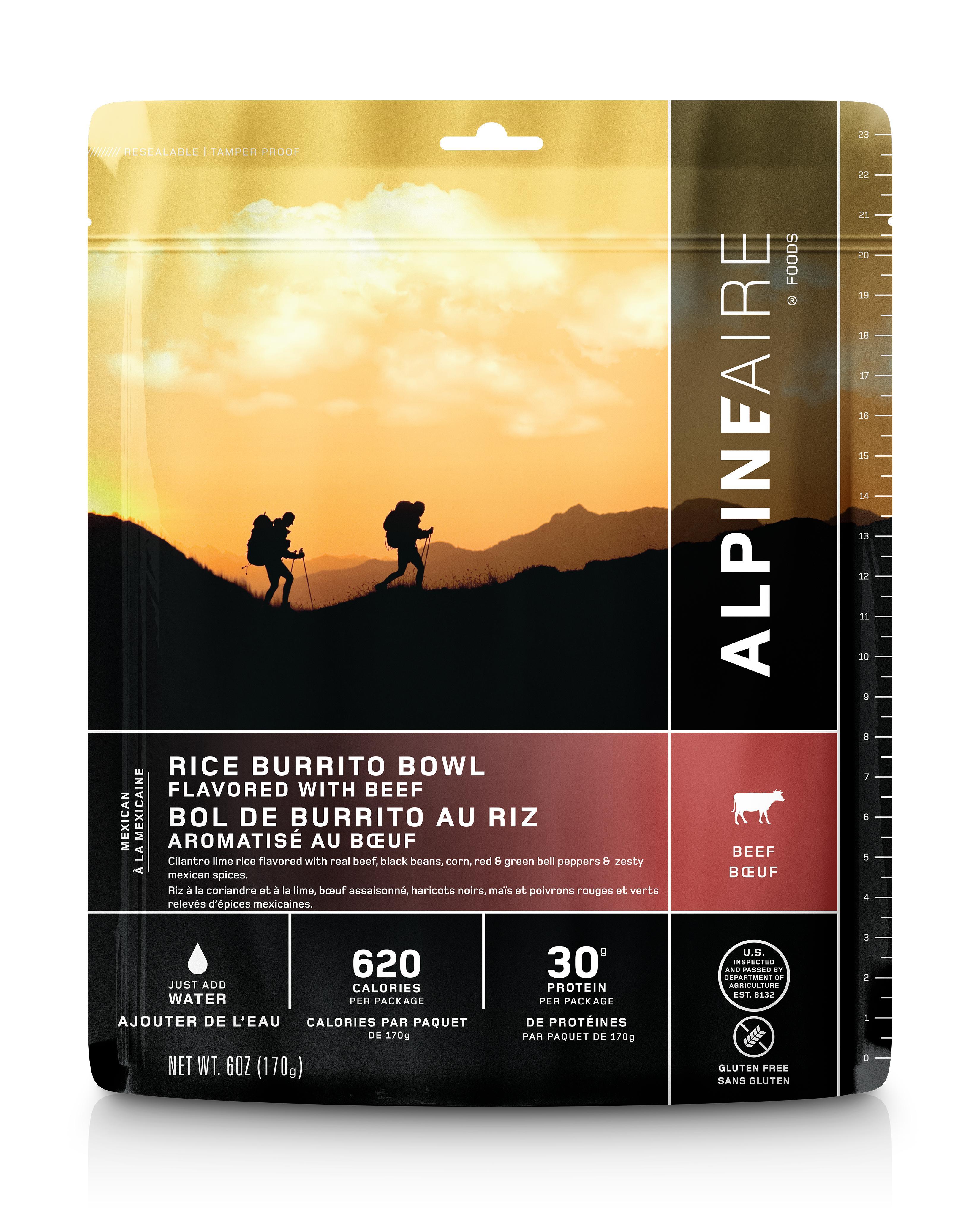 Alpine Aire Beef Burrito Bowl