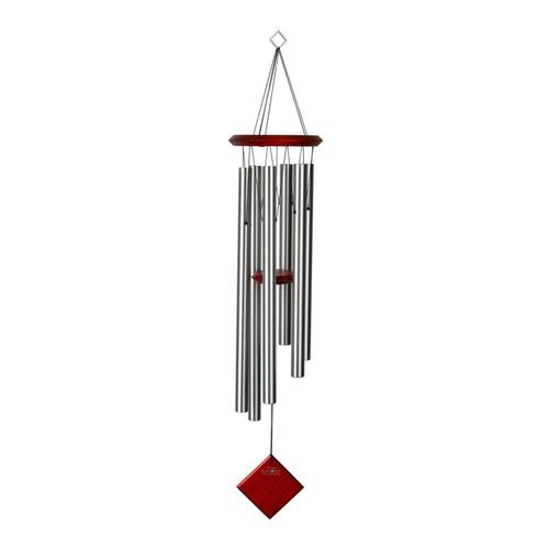 Woodstock Chimes Encore Chimes Of Earth - Silver