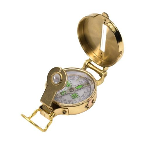 Ultimate Survival Technologies Heritage Lensatic Compass Brass