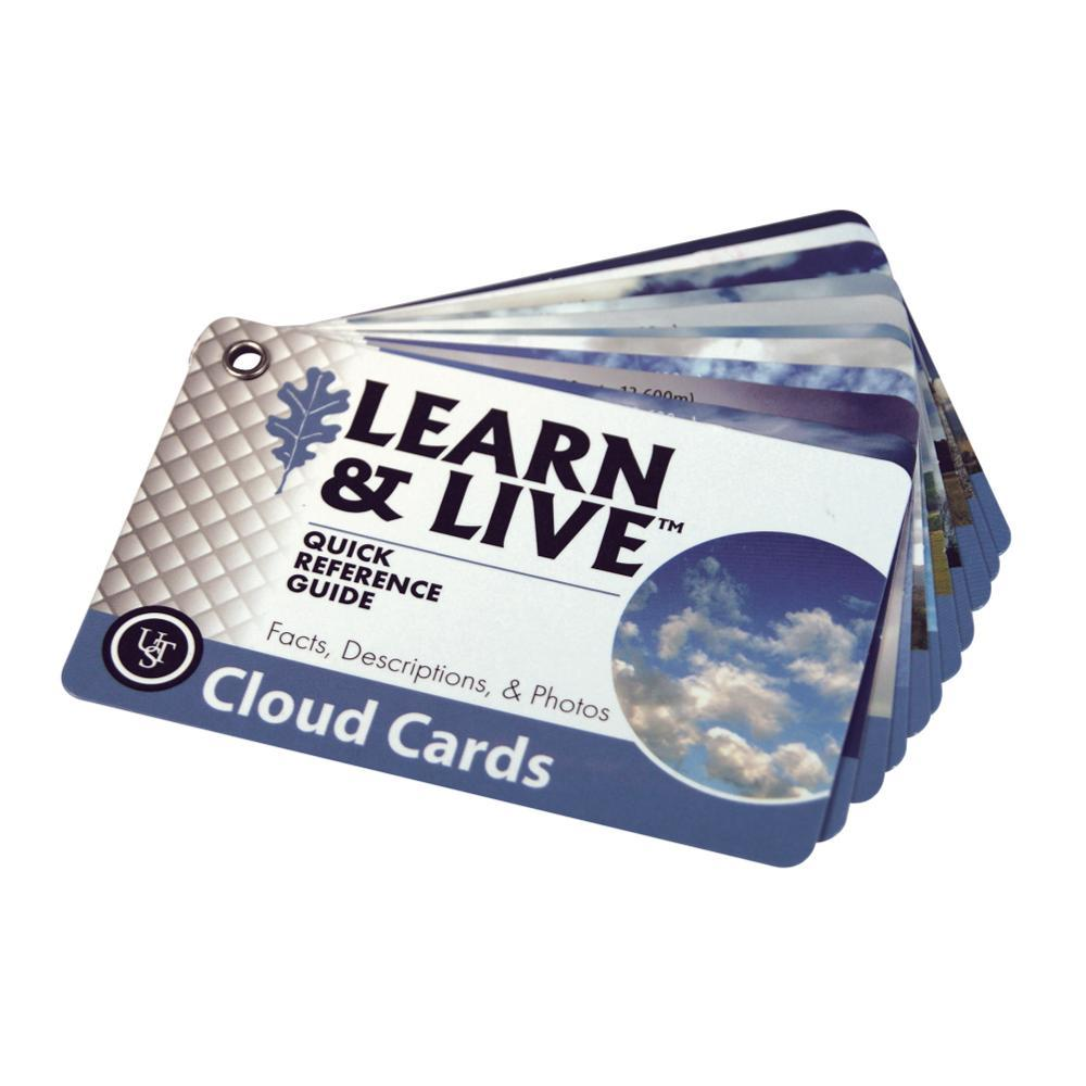 Ultimate Survival Technologies Learn & Live Cards - Clouds BLUWHT