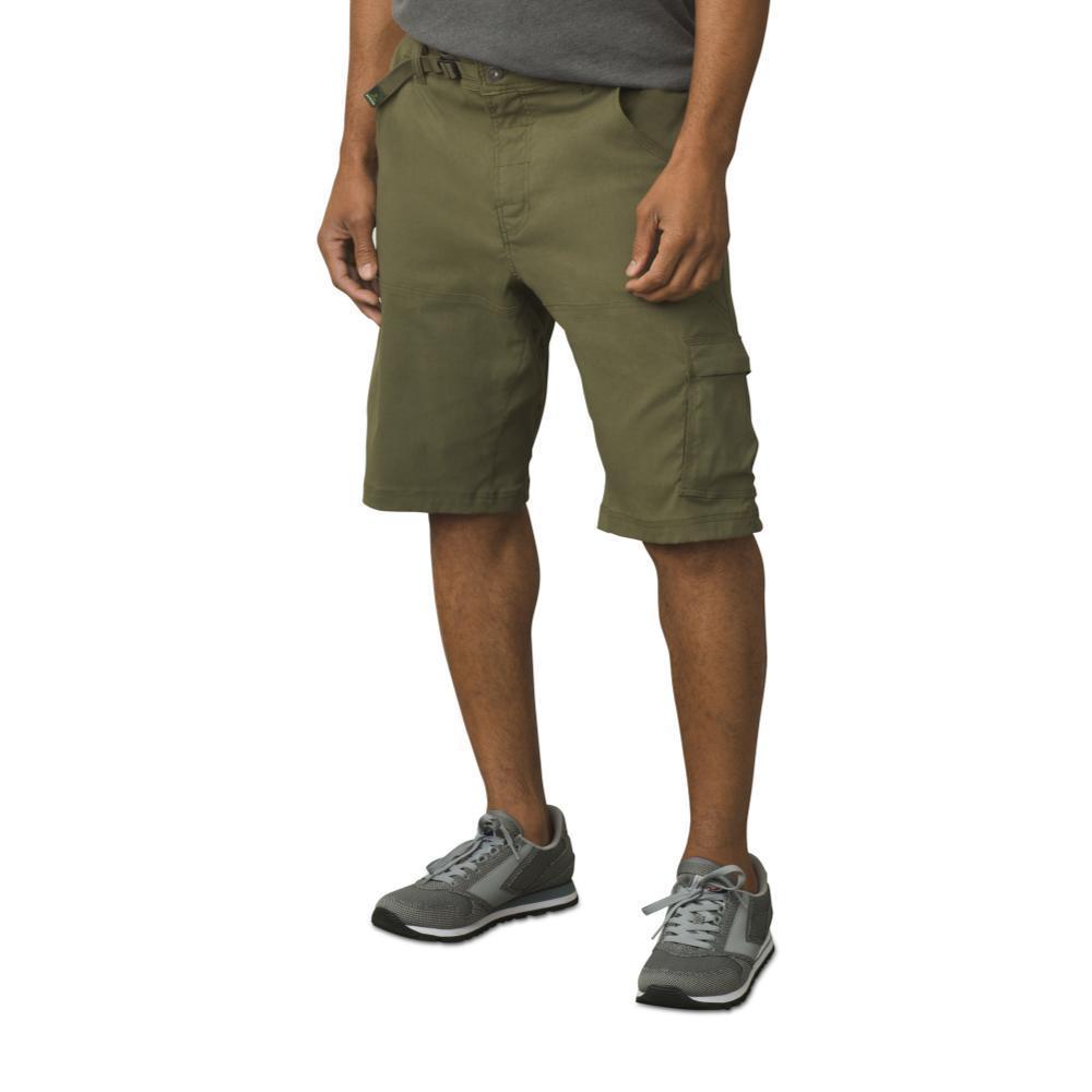 prAna Men's Stretch Zion Shorts- 12in Inseam CARGOGREEN