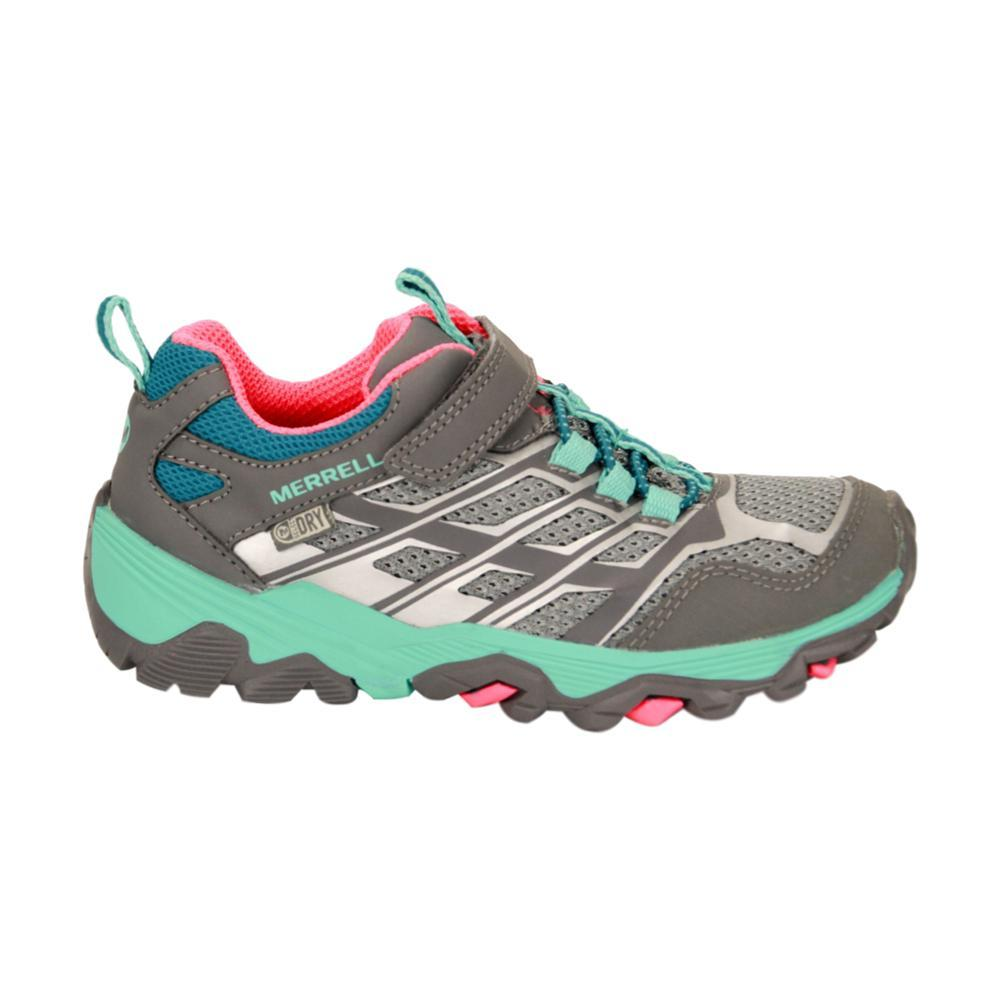 Merrell Kids Moab Low A/C Waterproof Shoes GREY_MULT
