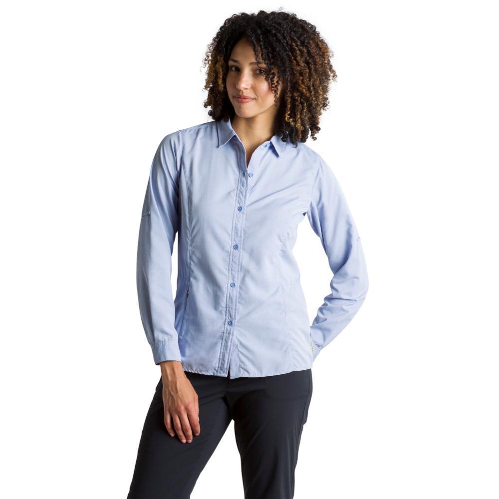 ExOfficio Women's BugsAway Brisa L/S Shirt LOBELIA
