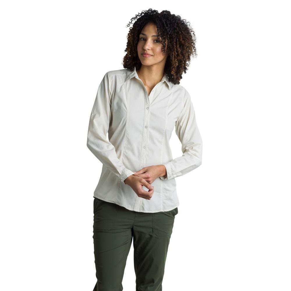 ExOfficio Women's BugsAway Brisa L/S Shirt LTSTONE