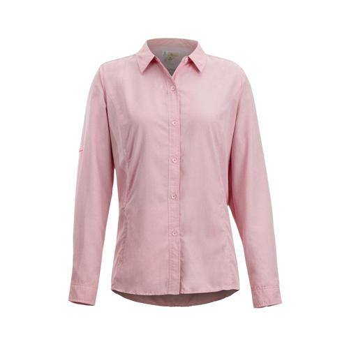 ExOfficio Women's BugsAway Brisa L/S Shirt Spicecoral