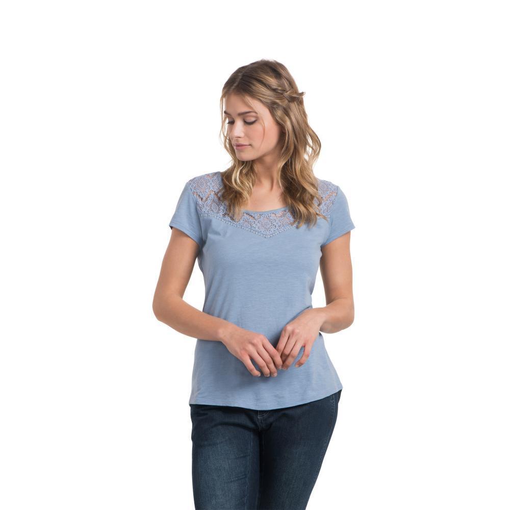 KÜHL Women's Lively Short Sleeve Shirt BELLFLOWER