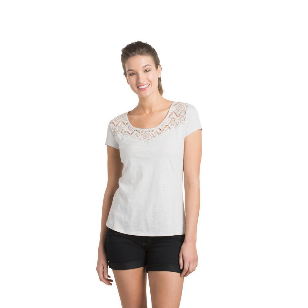 KÜHL Women's Lively Short Sleeve Shirt MIST