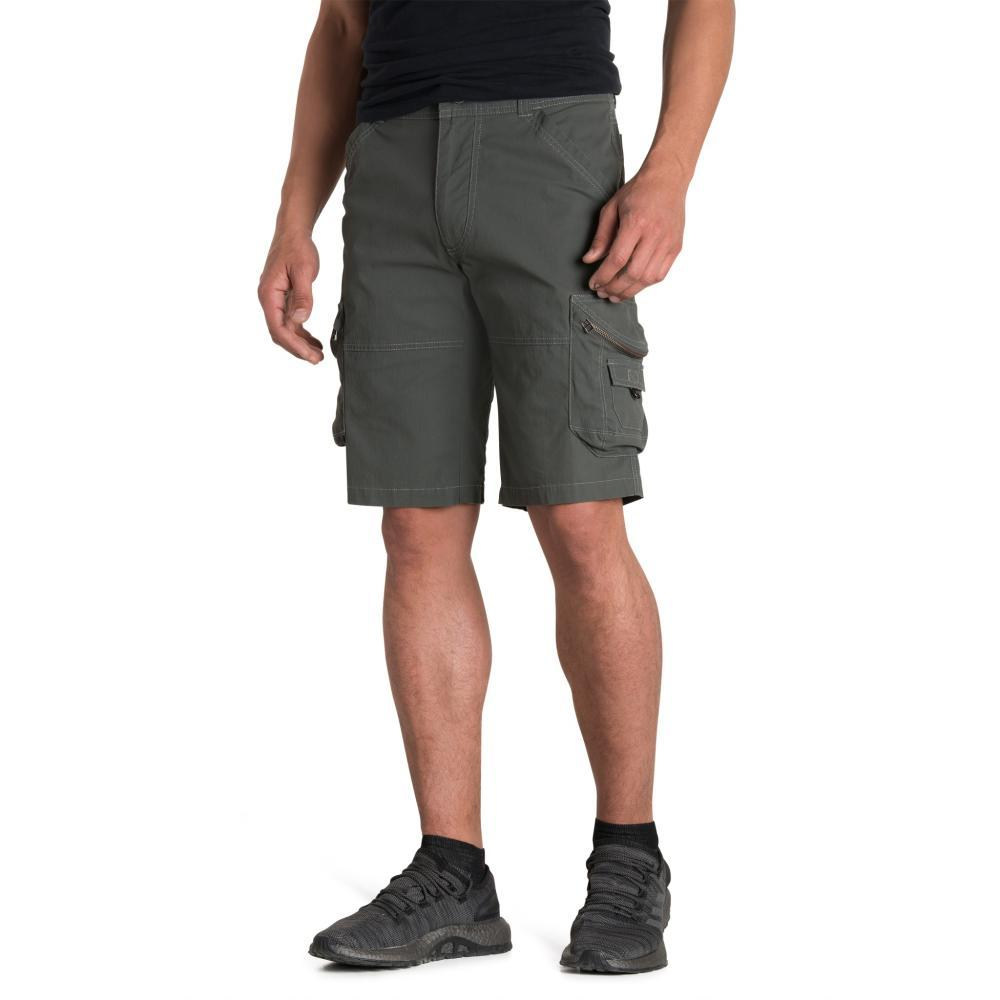 KUHL Men's Ambush Kargo Shorts - 12in CARBON