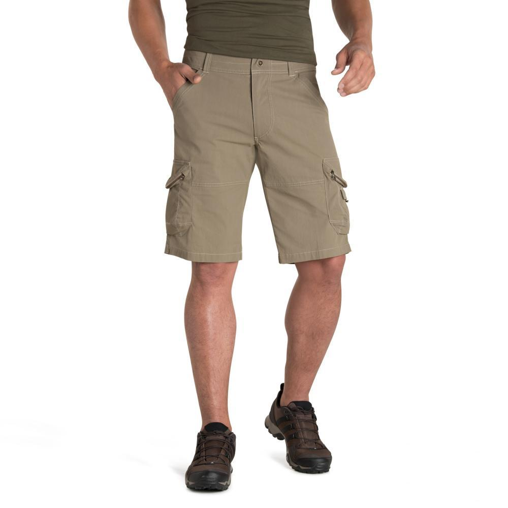 KUHL Men's Ambush Kargo Shorts - 12in KHAKI