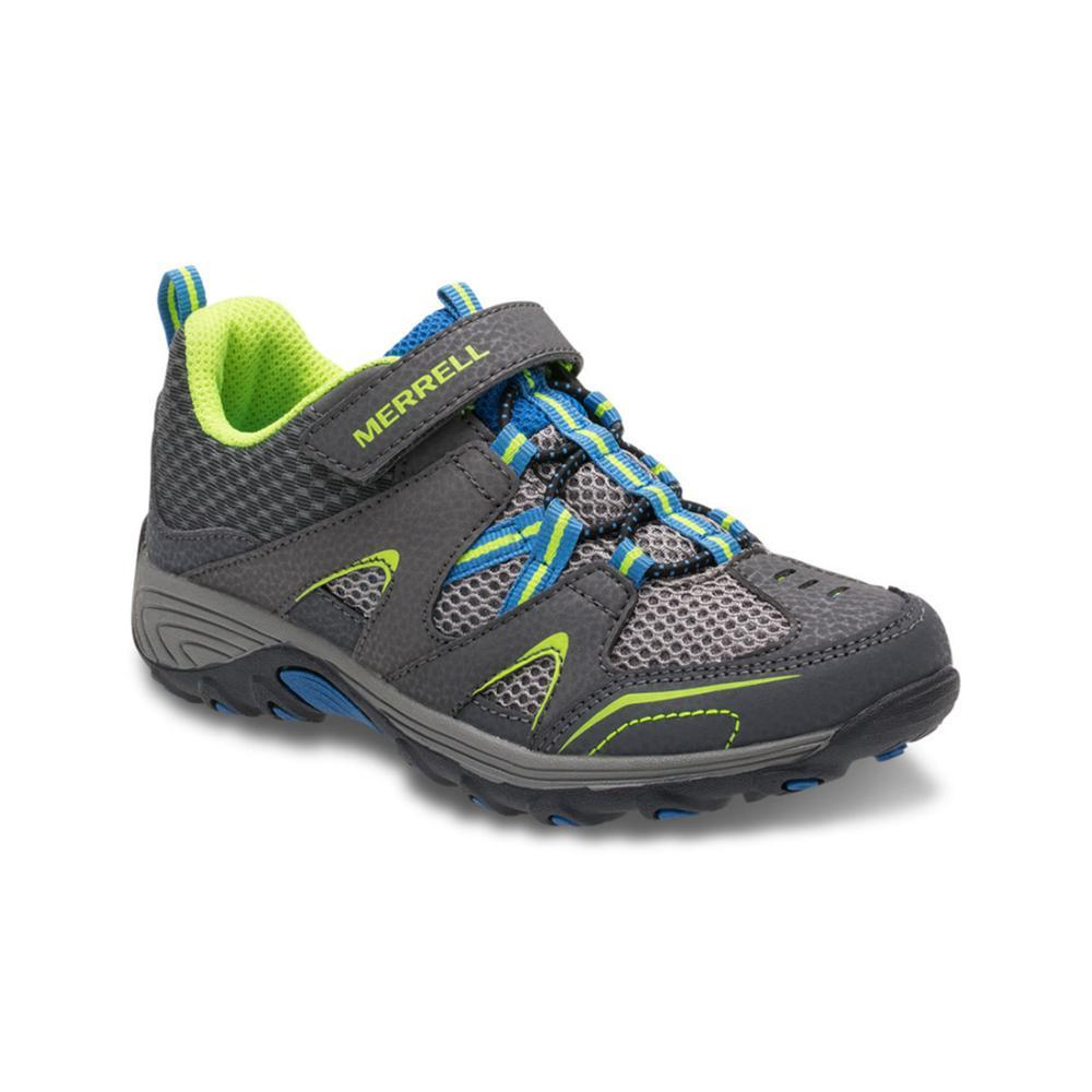 Merrell Big Kids Trail Chaser Shoes GRYBLUCITR